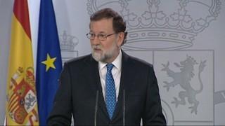 """Rajoy: """"Amb qui m'hauria de reunir és amb Arrimadas"""""""
