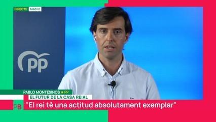 "Pablo Montesinos: ""El rei té una actitud absolutament exemplar"""
