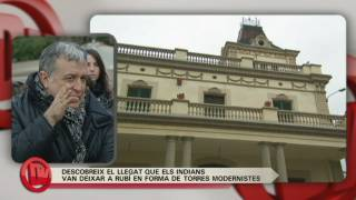 Turisme a Rubí, amb l'actor Enric Majó