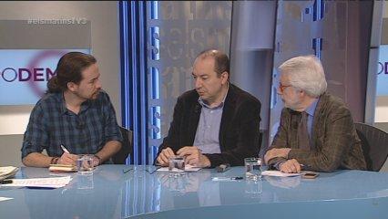 Tertúlia del 22/12/14 (part 1) amb Pablo Iglesias