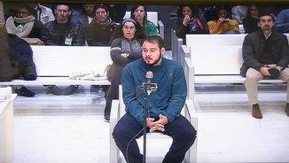 El raper lleidatà Hasél, acusat d'injúries al rei, defensa davant el jutge que relata fets reals
