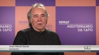 """Serrat anuncia gira en solitari per cantar """"Mediterráneo"""""""