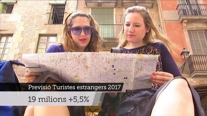 Catalunya tancarà l'any amb 19 milions de turistes, un 5,5% més