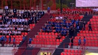 """Iu Forn: """"He vist coses que no creuríeu a la cerimònia d'inauguració dels Jocs Mediterranis"""""""