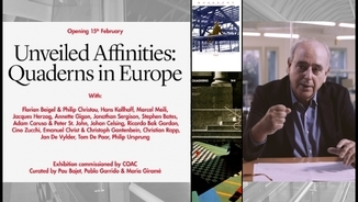 """Unveiled Affinities. Quaderns in Europe"", arquitectura i crítica a Catalunya a la dècada del 1980"