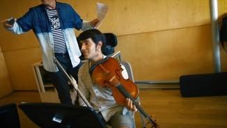 Les classes de Kronos Quartet als alumnes de música de l'ESMUC