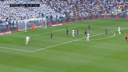 Resum del Reial Madrid-Valladolid (1-1)