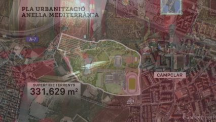 Tarragona aprova urbanitzar l'anella que ha d'acollir les instal·lacions dels Jocs del Mediterrani