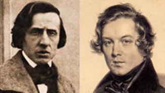 1810: Fryderyk Chopin i Robert Schumann