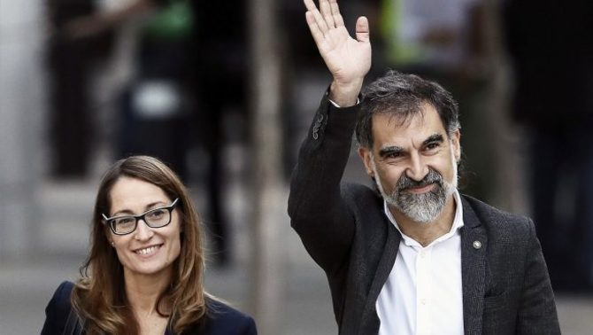 """Jordi Cuixart reclama """"generositat"""" a l'independentisme: """"Prou de retrets"""""""