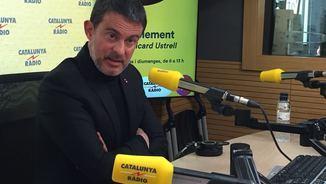 """Manuel Valls: """"El procés separatista no té cap sentit i ha fracassat"""""""