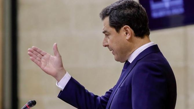 Juanma Moreno anuncia que pensa eliminar l'impost de successions i donacions (EFE)