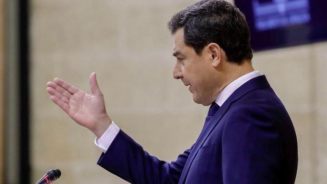 "Juanma Moreno diu que governarà Andalusia ""sense complexos ni cordons sanitaris"""
