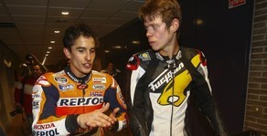 "Marc M�rquez al Tito: ""Tito, you are in an another level"""