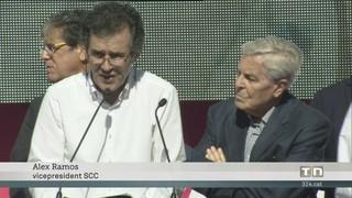 Crida urgent per evitar el trencament d'Espanya a la manifestació a favor de la unitat