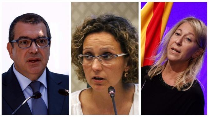 """Jané, Munté i Ruiz declaren al Suprem que van sortir del govern per """"raons personals"""""""