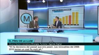"""Álvaro Nadal: """"No podem substituir la nuclear per renovables perquè no hi ha cap que treballi ininterrompudament"""""""