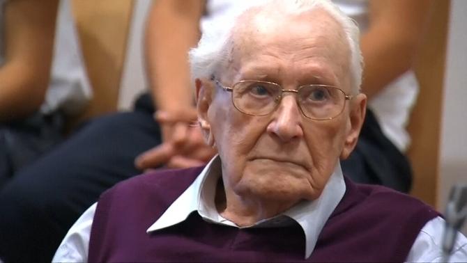 """Mor als 96 anys el """"comptable d'Auschwitz"""", condemnat per crims nazis"""