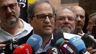 """Torra demana a l'alcalde de Lleida que """"no criminalitzi els llaços grocs"""""""
