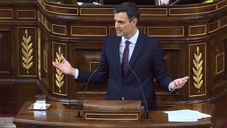 """Pedro Sánchez sobre Catalunya: """"Dialogar no és cedir, serà una cursa de fons d'alts i baixos"""""""
