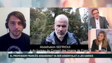 Facebook va allotjar una campanya contra el professor francés assassinat