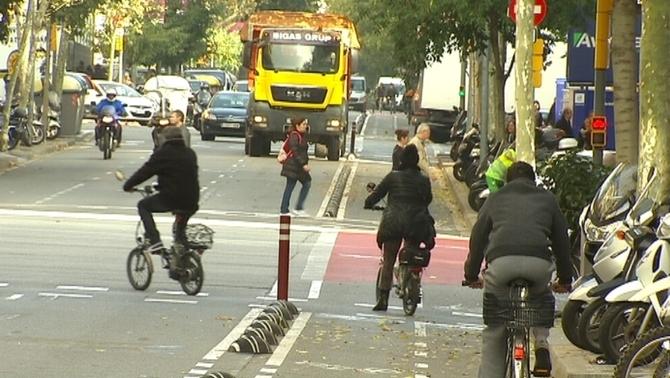 Augmenten un 21% els accidents amb bicicleta a Barcelona des del 2010