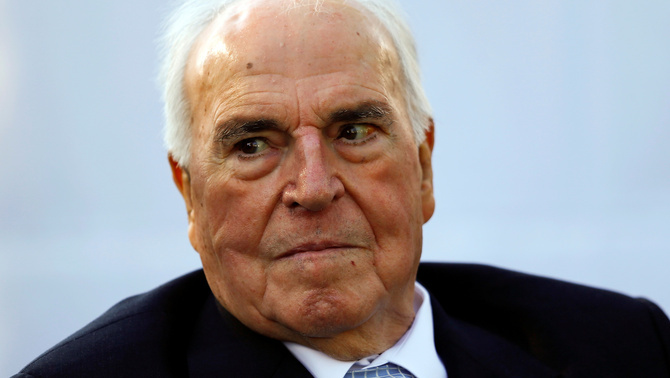 Helmuth Kohl l'any 2013