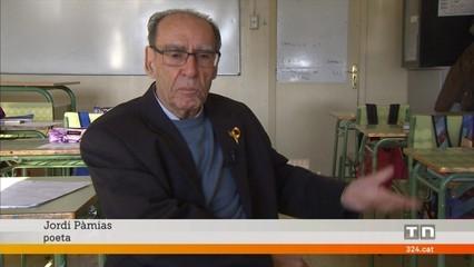 El poeta Jordi Pàmias celebra 80 anys amb records i poesia