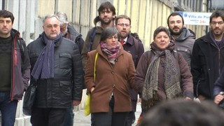 Boya, de la CUP, queda en llibertat després de dir-li al jutge que defensa la república catalana