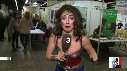 "La ""Wonder Woman"" del ""Tot es mou"""