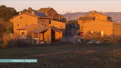 Vilaplana, el poble amb calefacció central