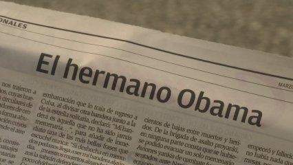 Castro parla a Grama de la visita d'Obama a Cuba