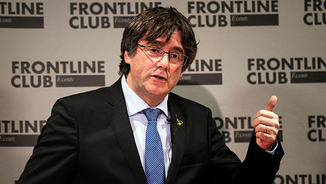 Carles Puigdemont a Londres