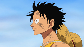 "En Ruffy, protagonista de ""One piece""."