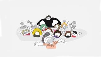 "Juanjo Sáez ens presenta la seva nova sèrie d'animació, ""Heavies tendres"""