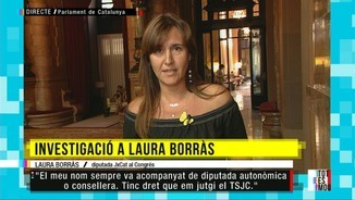 "Laura Borràs: ""La jutgessa que m'investiga sap que s'havia d'haver inhibit"""