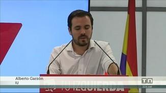 """Alberto Garzón: """"És absolutament necessari que ens posem d'acord en un govern progressista"""""""