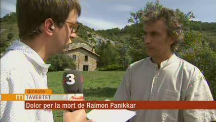Dolor per la mort del pensador Raimon Panikkar