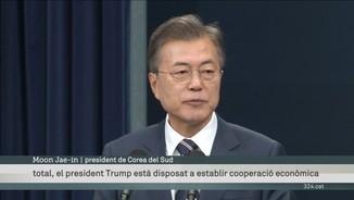 Corea del Sud assegura que Kim Jong-un està compromès amb la cimera amb Trump a Singapur