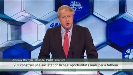 Boris Johnson se'n surt còmodament, de l'últim cara a cara televisiu abans de les eleccions de dijous al Regne Unit