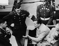 Hermann Goering a Nuremberg