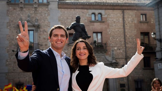 Arrimadas tria Madrid: serà candidata de Ciutadans per Barcelona el 28A