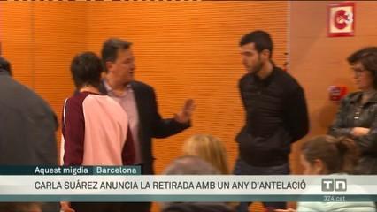 Carla Suárez anuncia la seva retirada al 2020