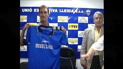 Rubiales va ser jugador de la UE Lleida