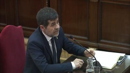 Jordi Sànchez declara