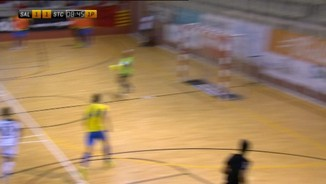 Copa Catalunya: Industries Santa Coloma-FS Salou 1a.semifinal
