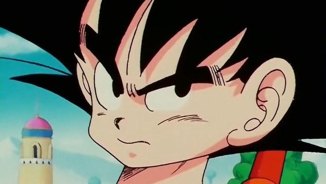 Primer pla d'en Son Goku