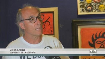 Una exposició permet veure obres de Dalí, Picasso o Tàpies fins al 15 d'agost a Cadaqués