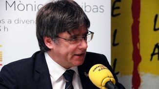 """Puigdemont:"""" És una fantasia pensar que hi ha una drecera que no passi pel civisme"""" (ACN)"""