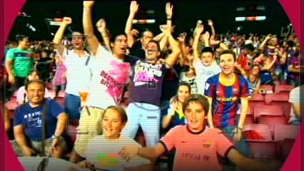 Al Camp Nou, porta els teus colors